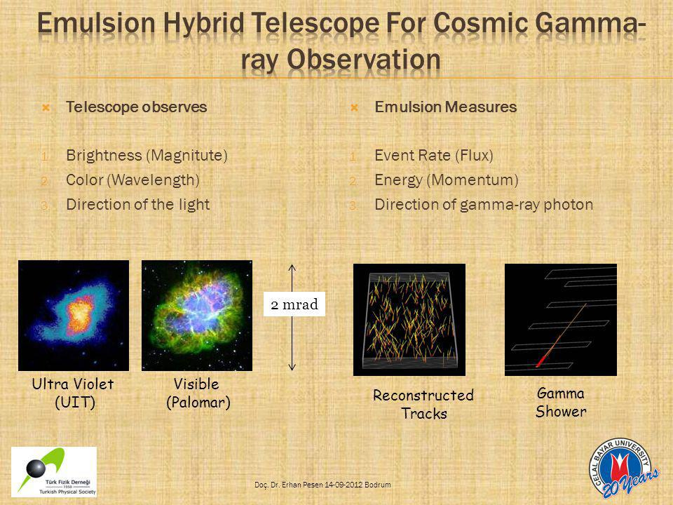 Emulsion Hybrid Telescope For Cosmic Gamma-ray Observation