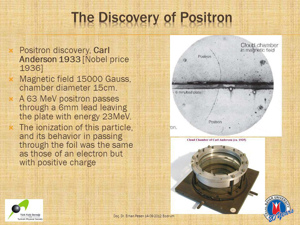 The Discovery of Positron