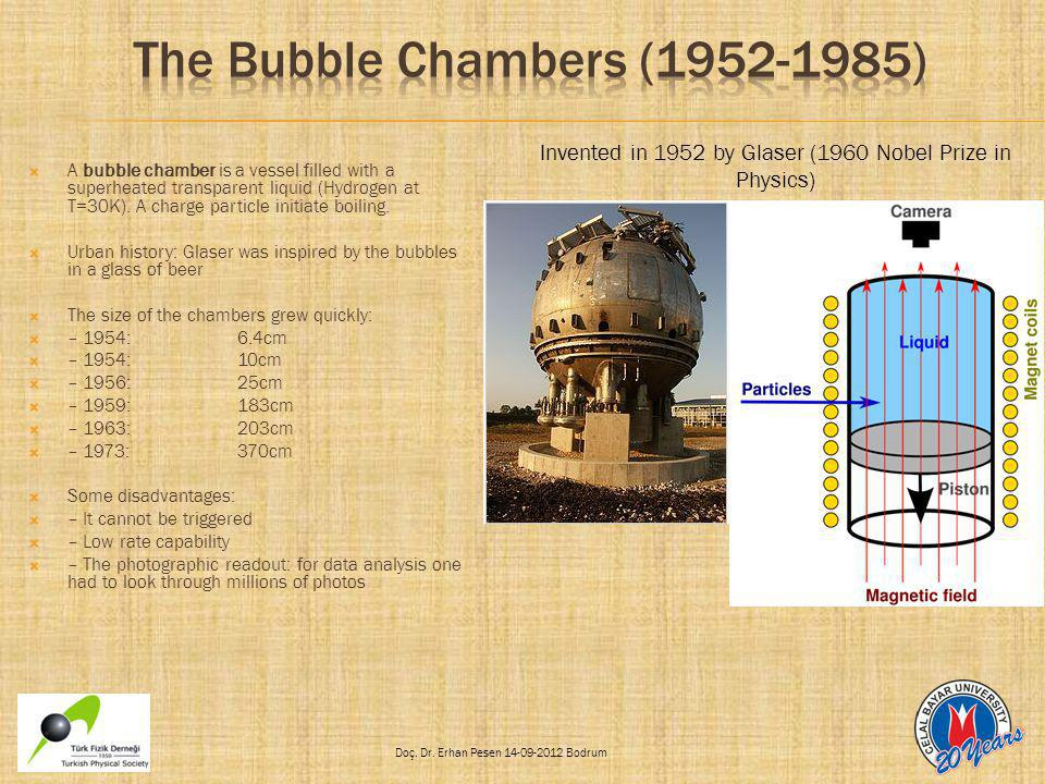 The Bubble Chambers (1952-1985)