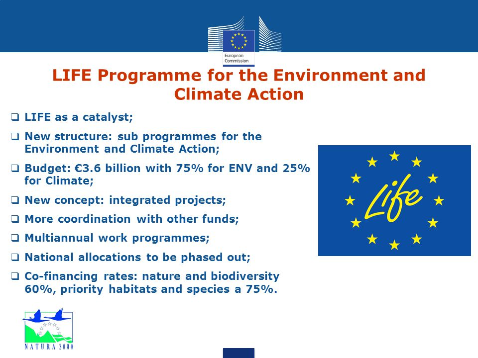LIFE Programme for the Environment and Climate Action