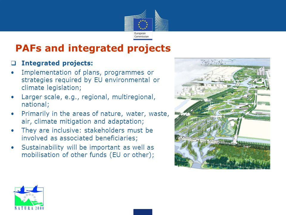 PAFs and integrated projects
