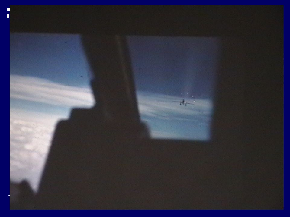 Here is an airborne shot with the gun sight on an F-84F