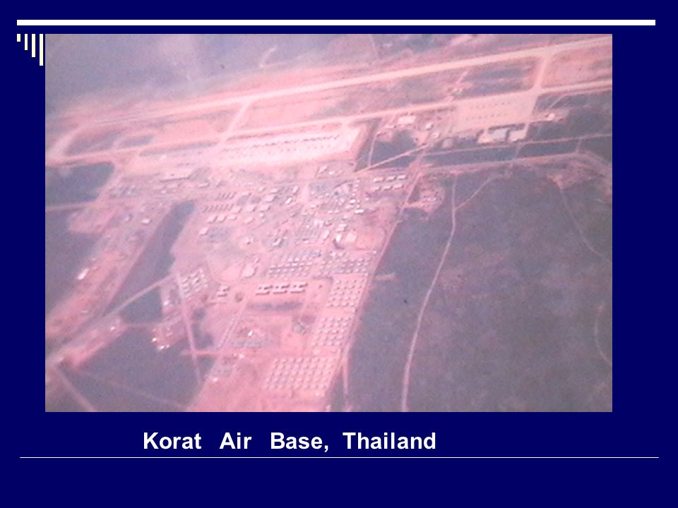 Korat Air Base, Thailand