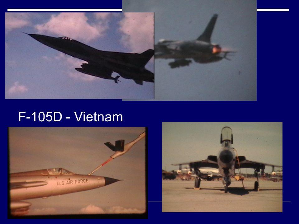 F-105D - Vietnam