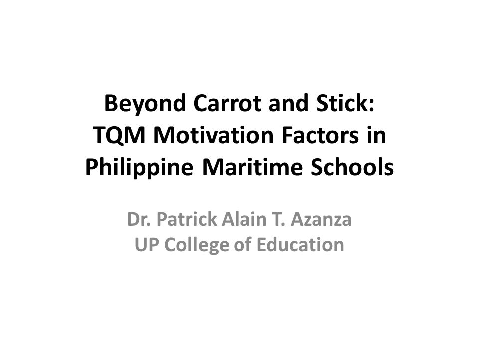Dr. Patrick Alain T. Azanza UP College of Education