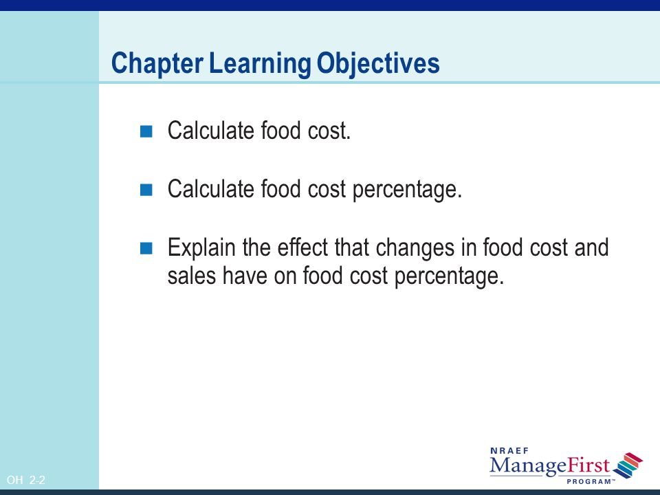 Chapter Learning Objectives