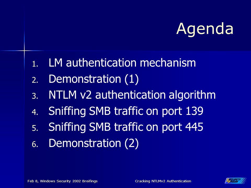 Cracking NTLMv2 Authentication