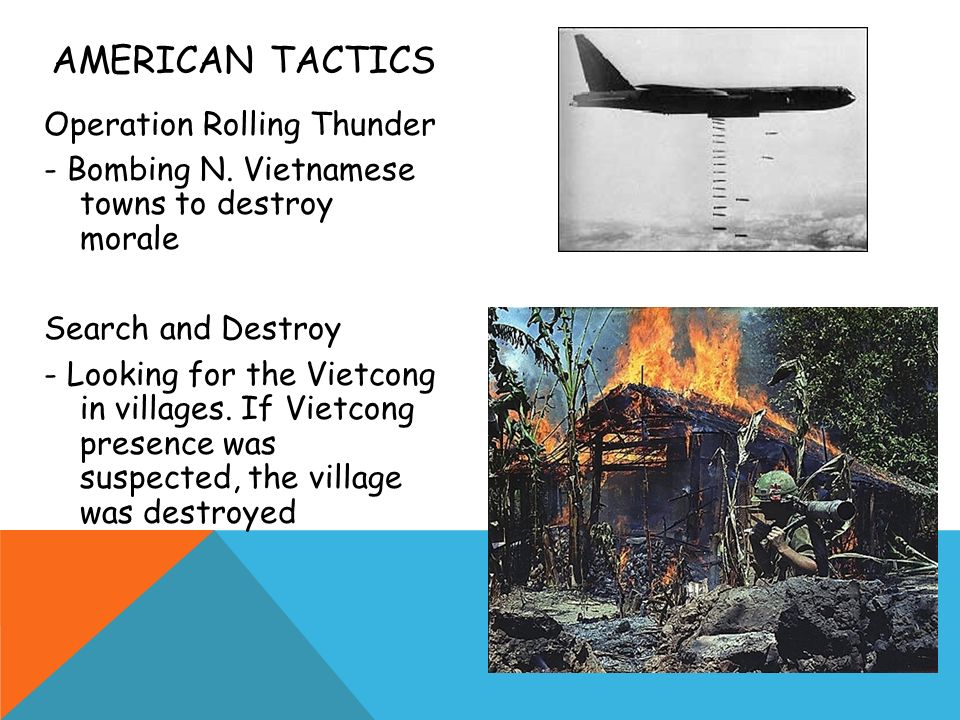 American tactics Operation Rolling Thunder