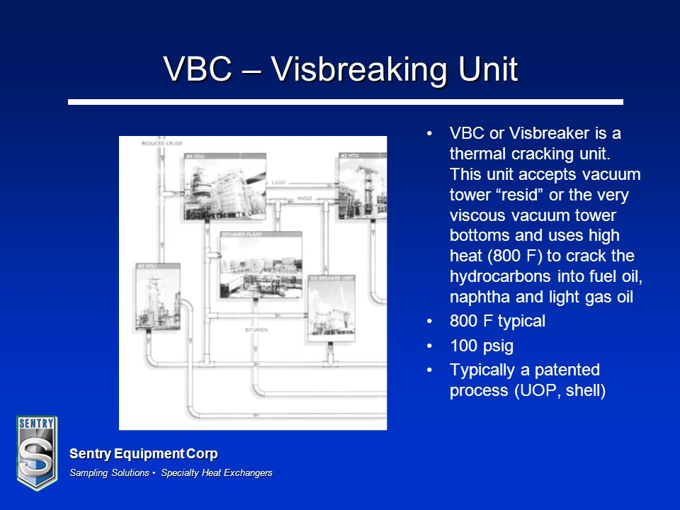 VBC – Visbreaking Unit