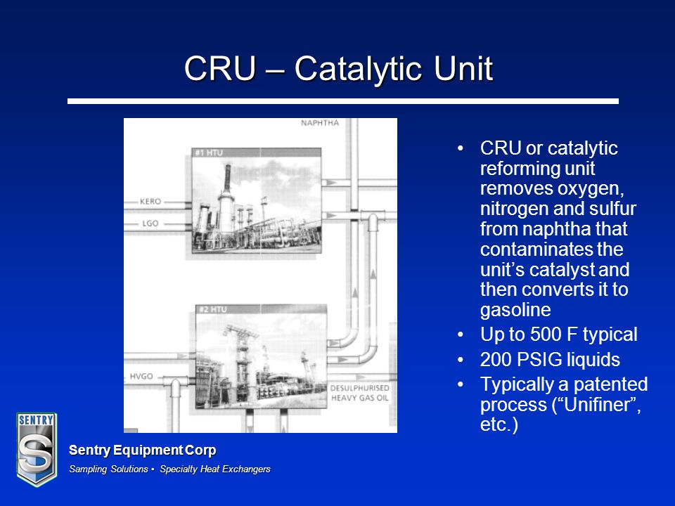 CRU – Catalytic Unit