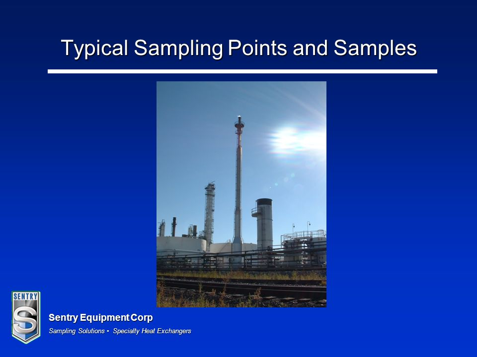 Typical Sampling Points and Samples