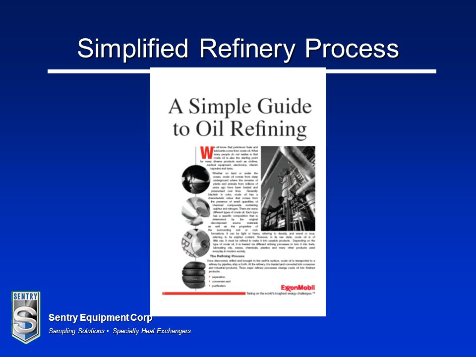 Simplified Refinery Process