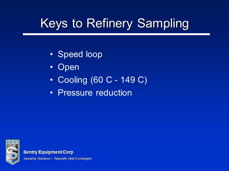 Keys to Refinery Sampling