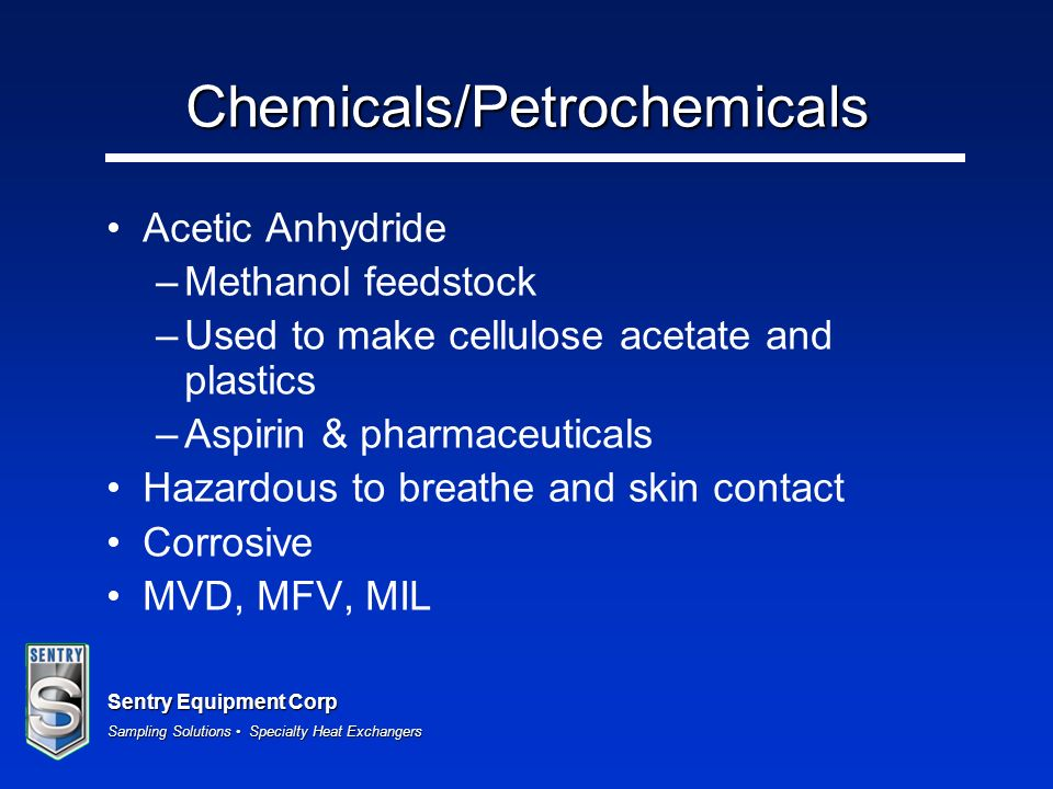Chemicals/Petrochemicals