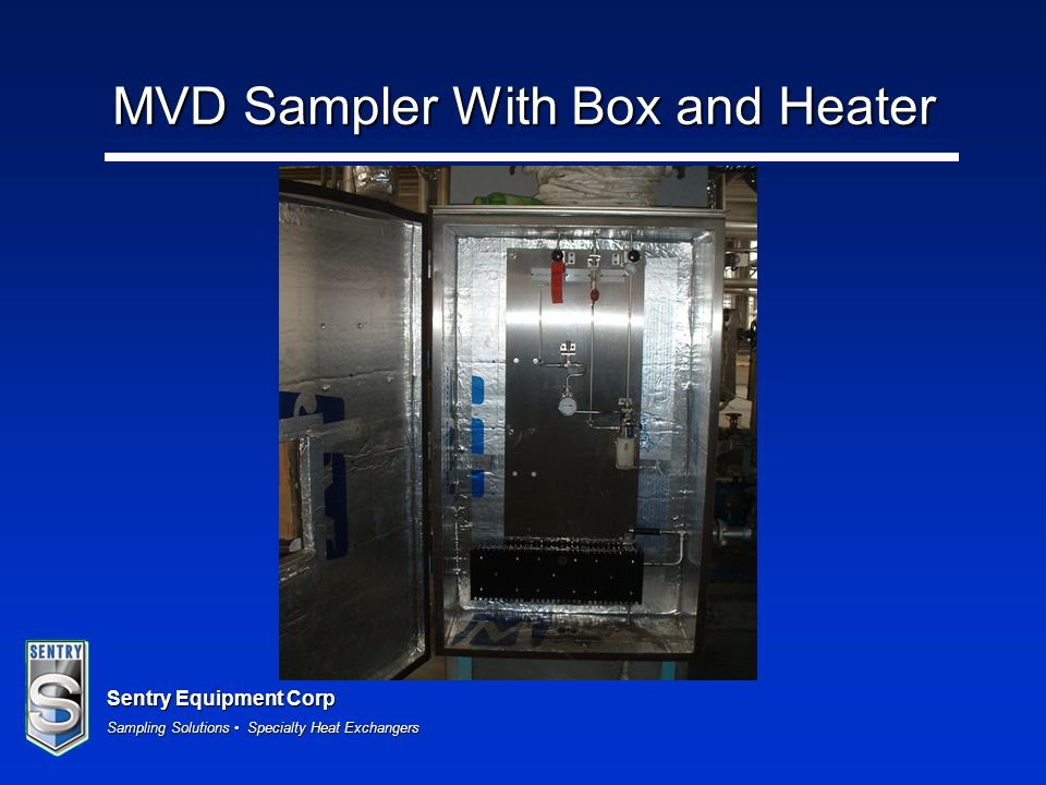 MVD Sampler With Box and Heater