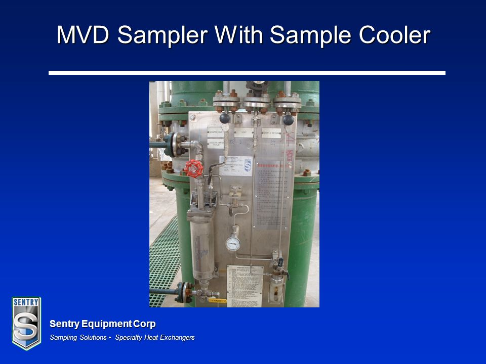 MVD Sampler With Sample Cooler