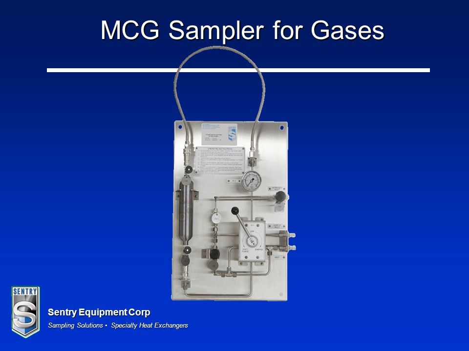 MCG Sampler for Gases