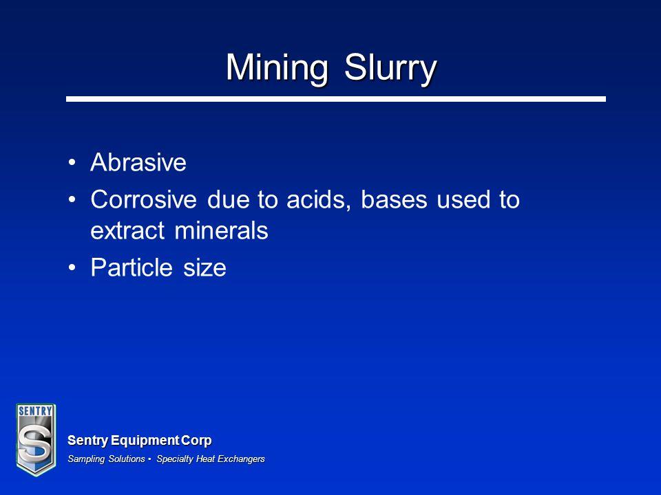 Mining Slurry Abrasive