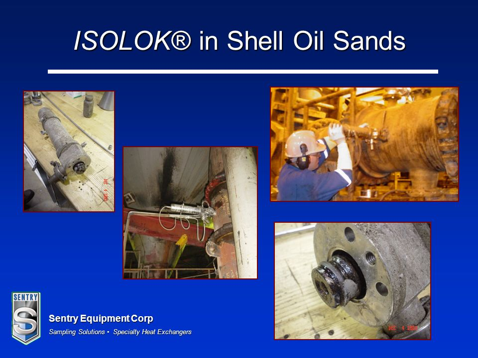 ISOLOK® in Shell Oil Sands
