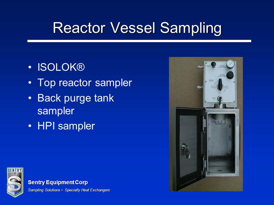 Reactor Vessel Sampling