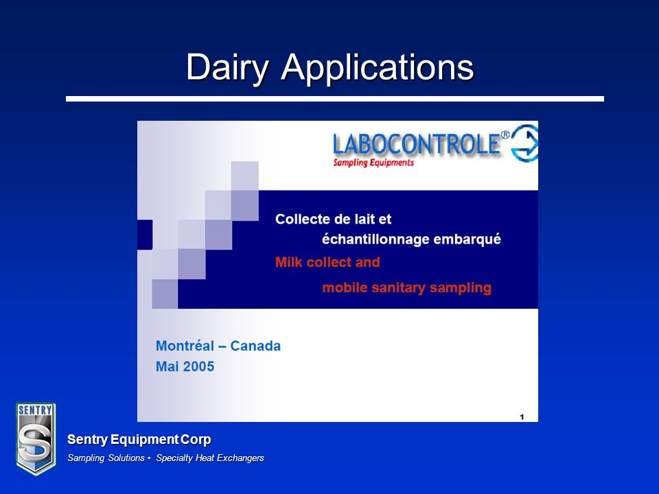 Dairy Applications
