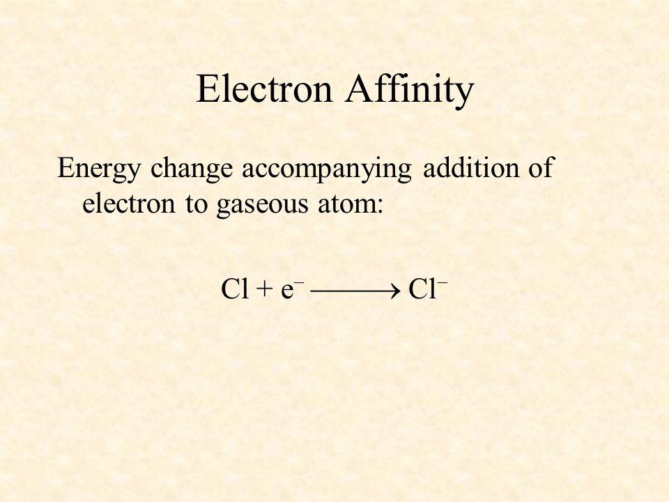 04/10/99 Electron Affinity.