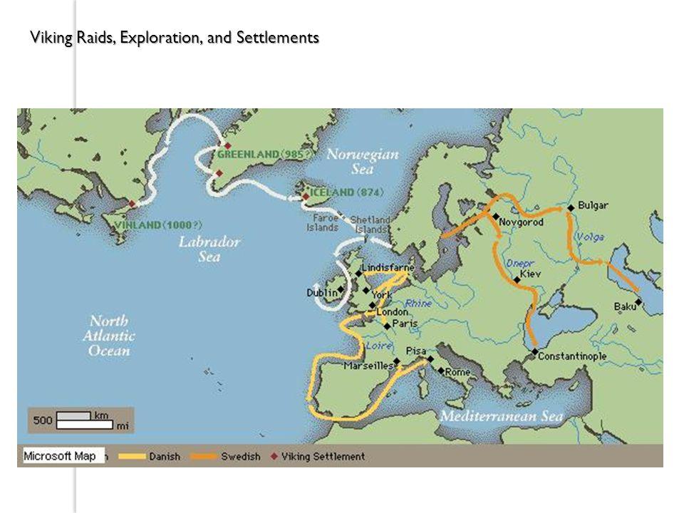 Viking Raids, Exploration, and Settlements
