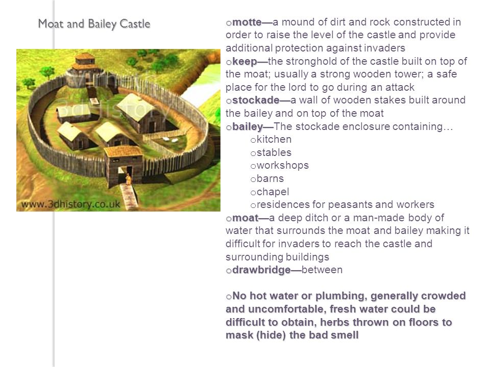 Moat and Bailey Castle