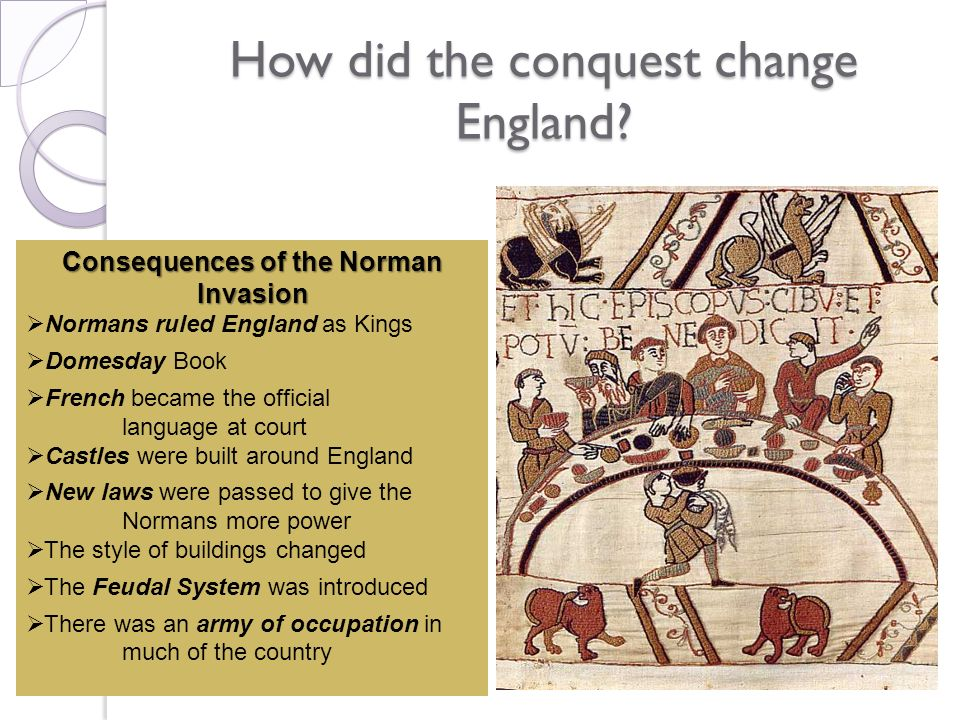 How did the conquest change England