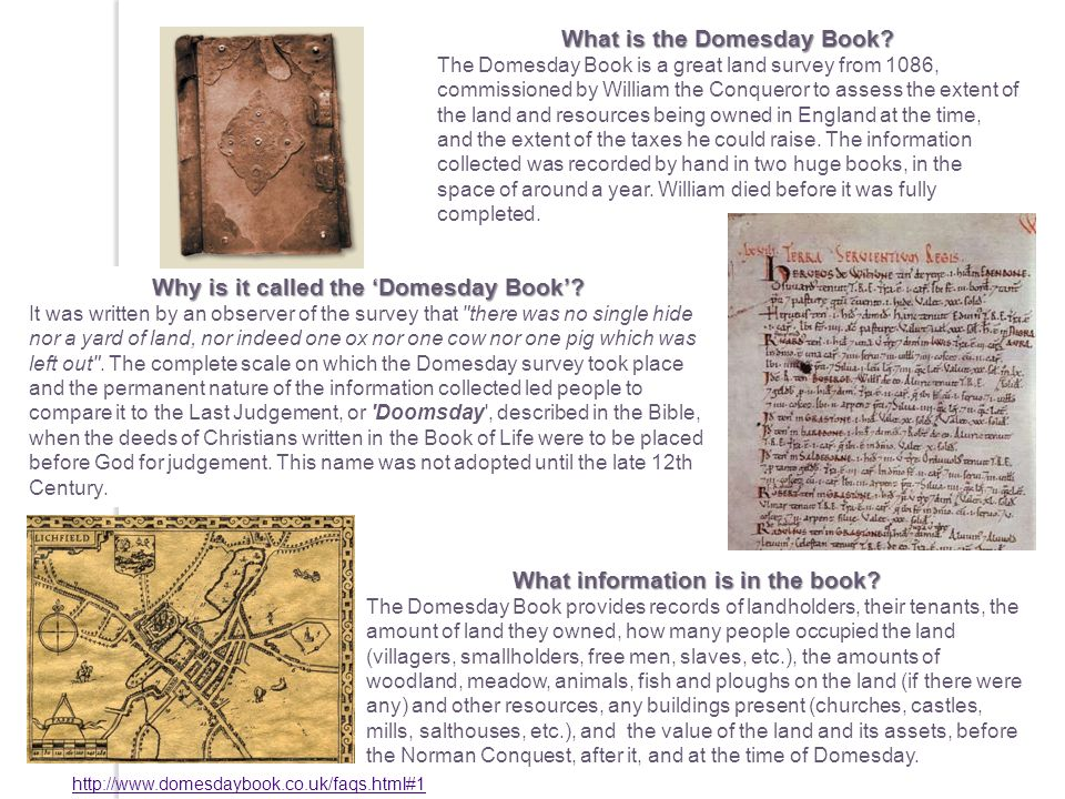 What is the Domesday Book