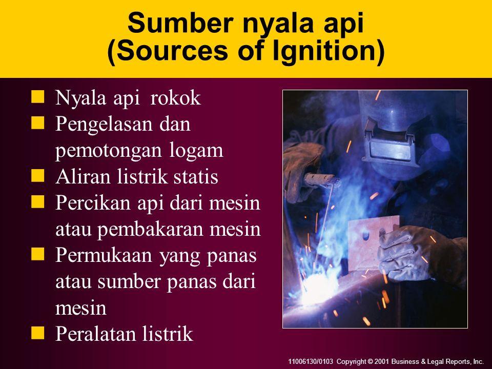 Sumber nyala api (Sources of Ignition)