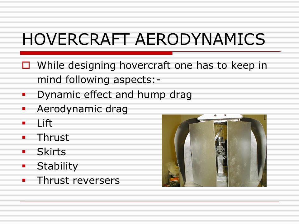 HOVERCRAFT AERODYNAMICS