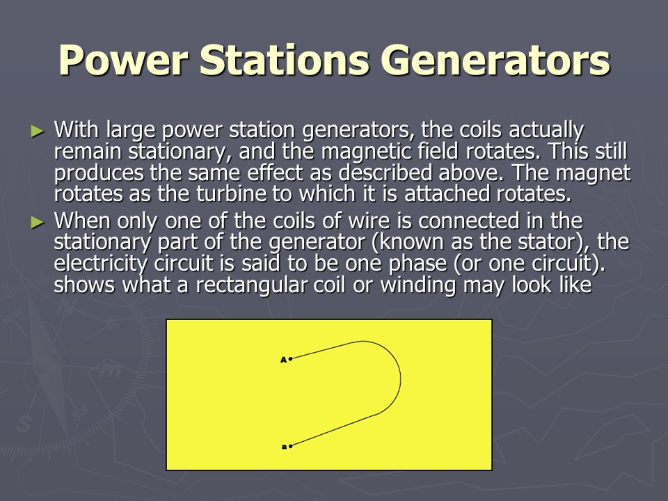 Power Stations Generators
