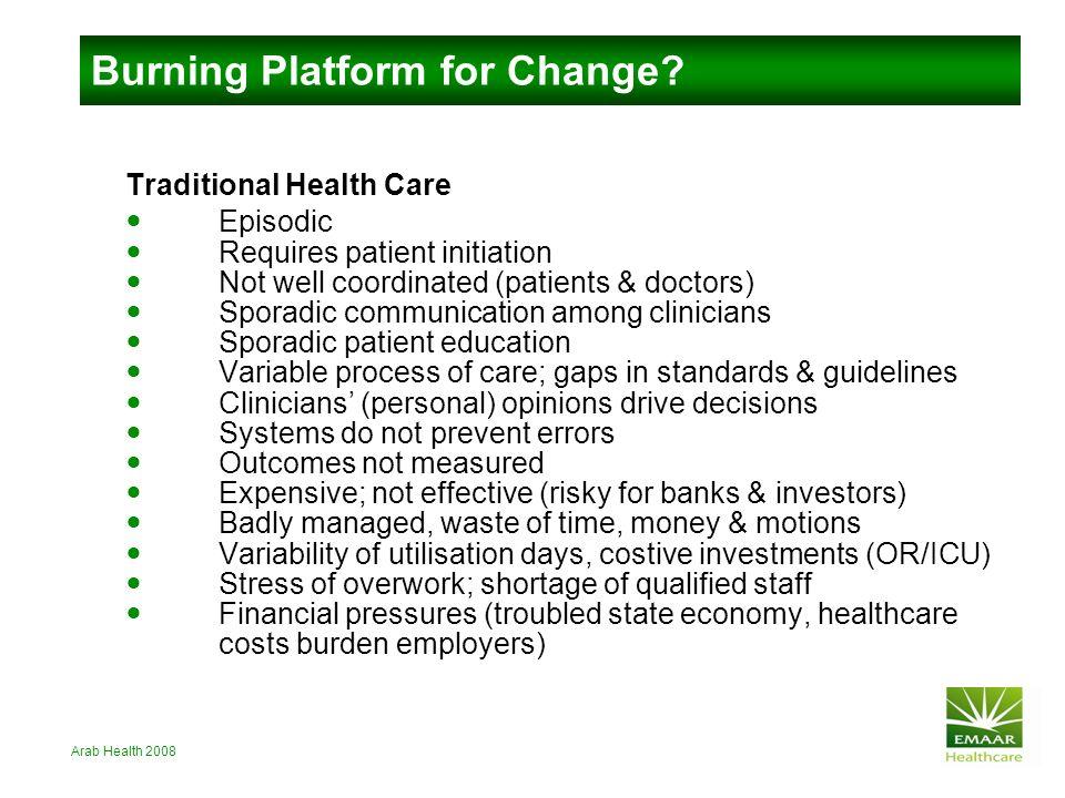 Burning Platform for Change