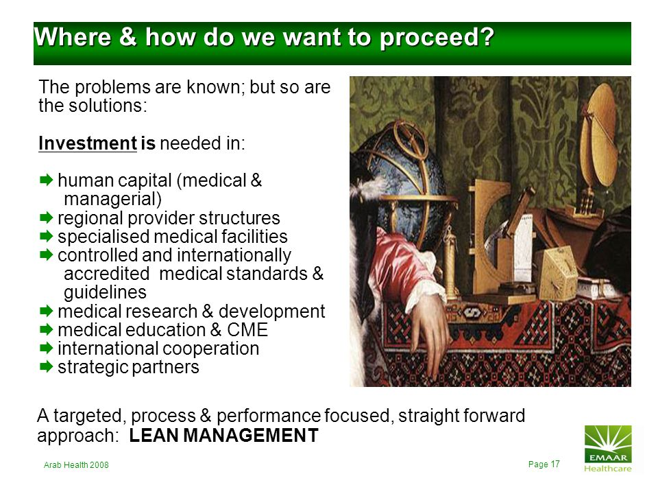 Where & how do we want to proceed