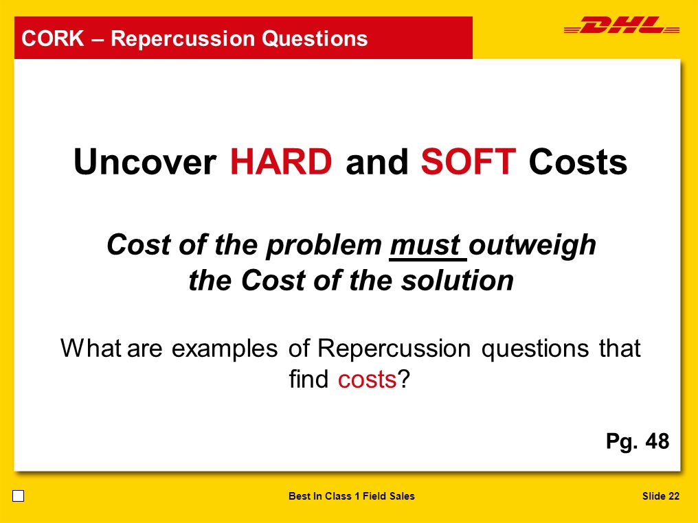 Uncover HARD and SOFT Costs