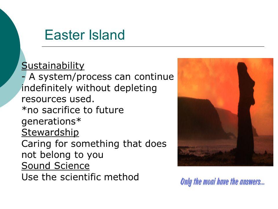 Easter Island Sustainability