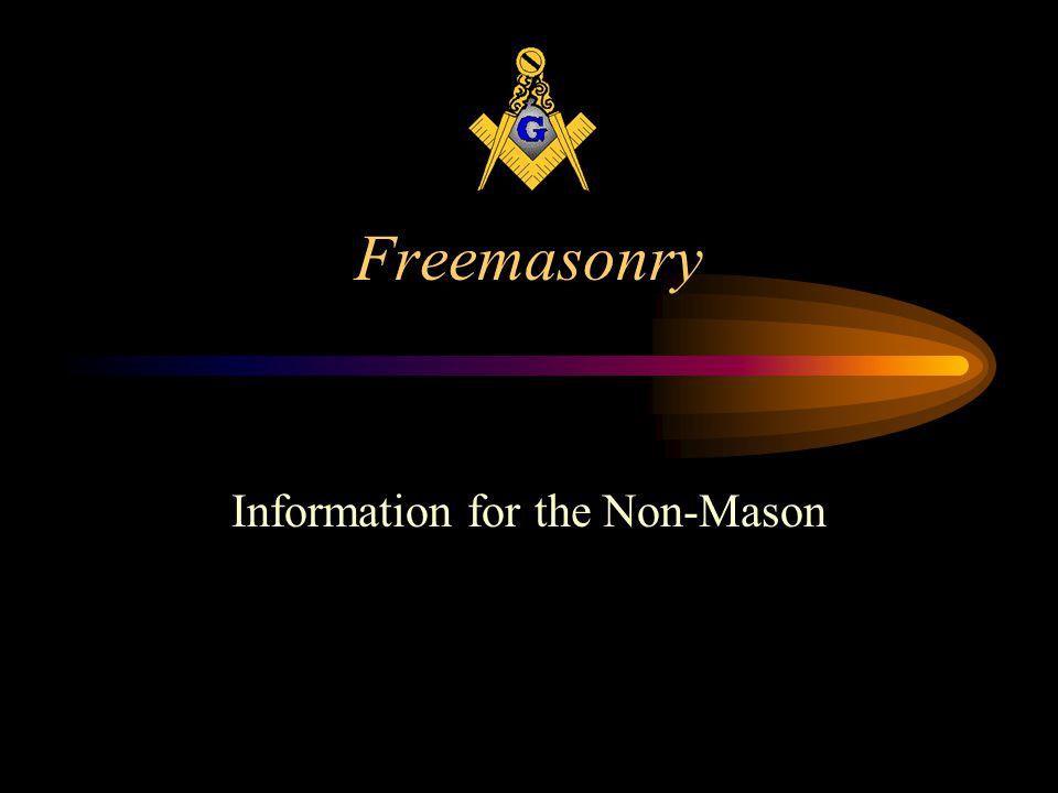 Information for the Non-Mason