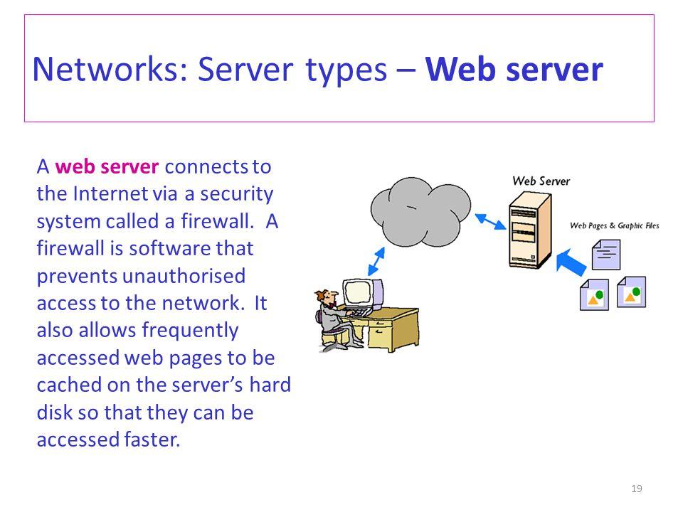 Networks: Server types – Web server
