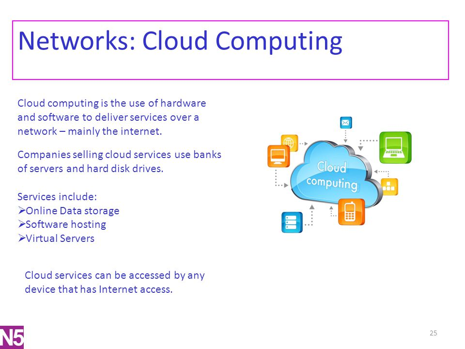 Networks: Cloud Computing