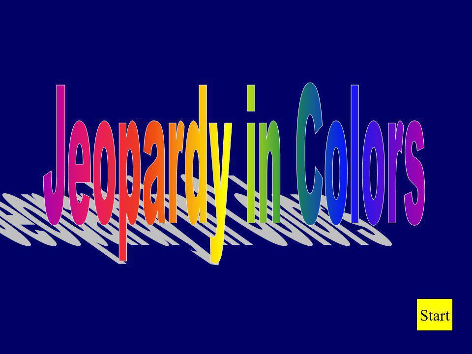 Jeopardy in Colors Start