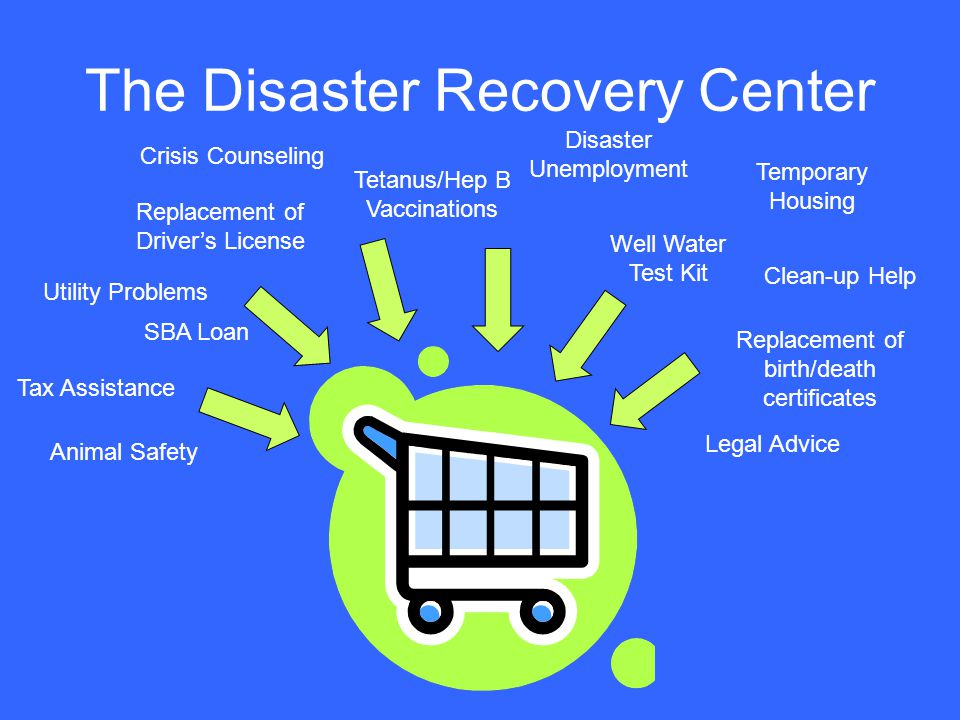 The Disaster Recovery Center