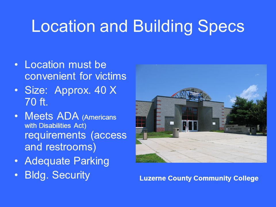 Location and Building Specs