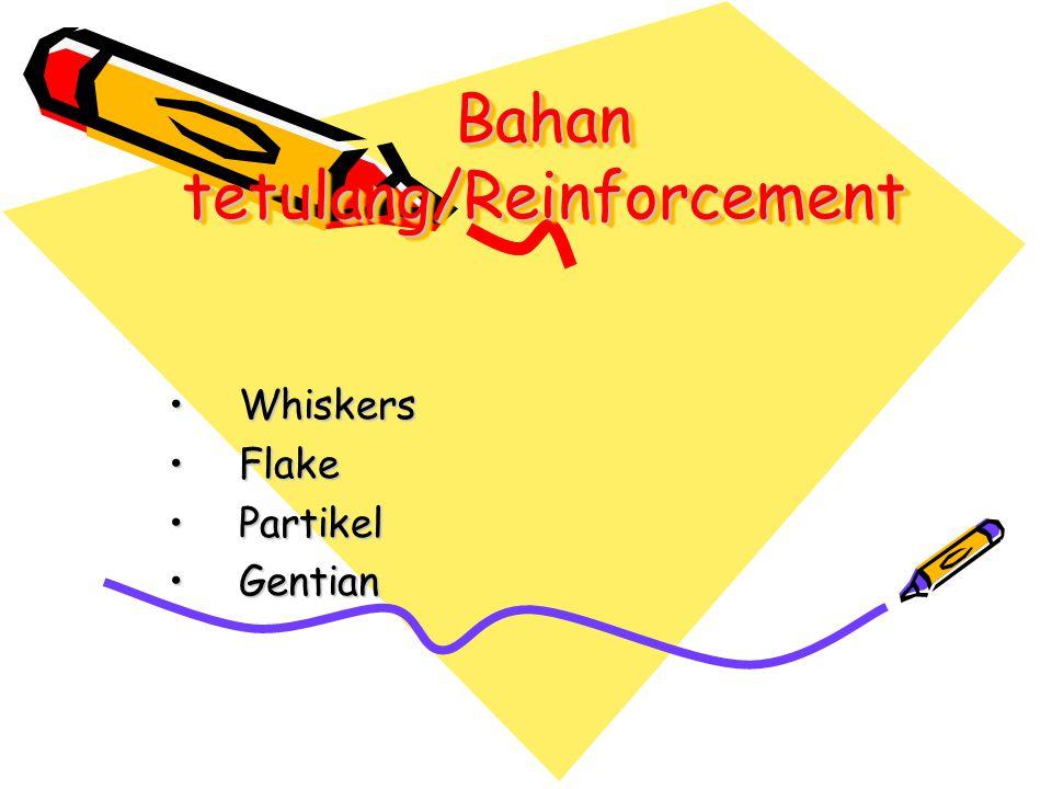 Bahan tetulang/Reinforcement