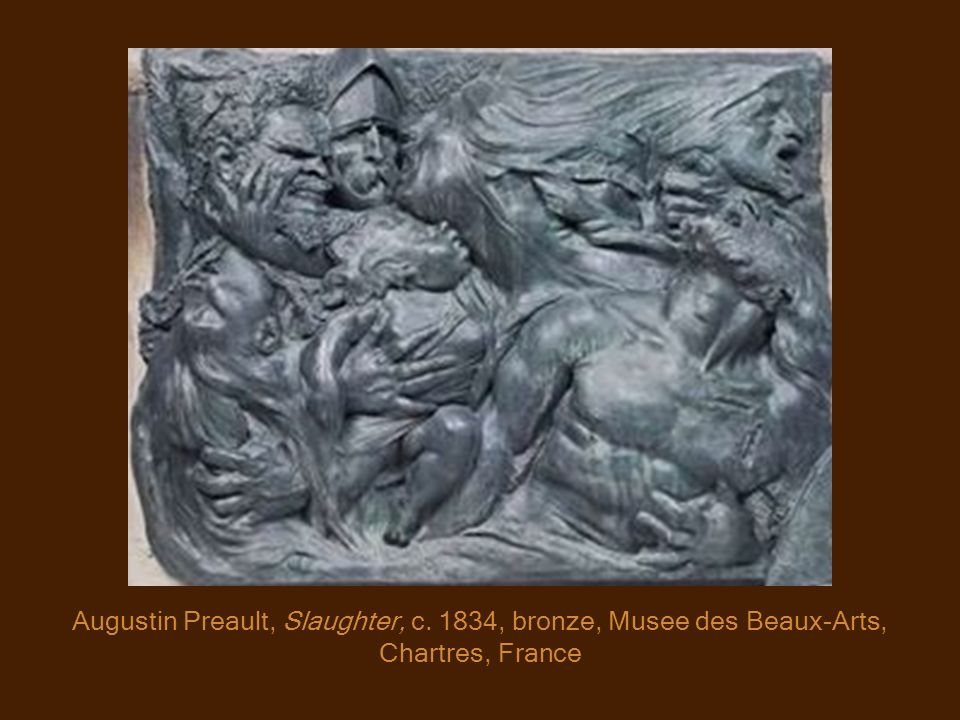 Augustin Preault, Slaughter, c