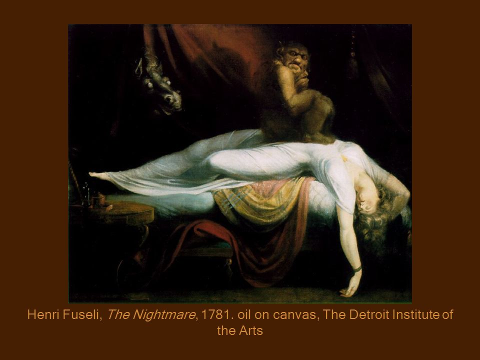 Henri Fuseli, The Nightmare, 1781