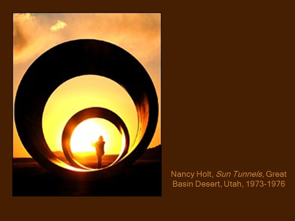 Nancy Holt, Sun Tunnels, Great Basin Desert, Utah, 1973-1976