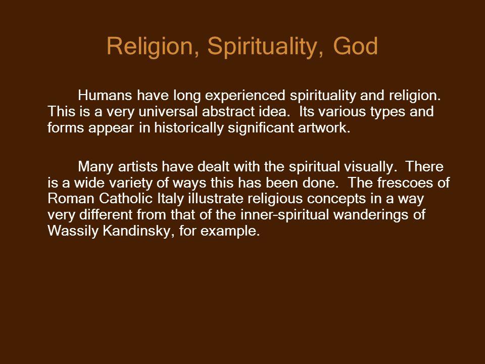 Religion, Spirituality, God
