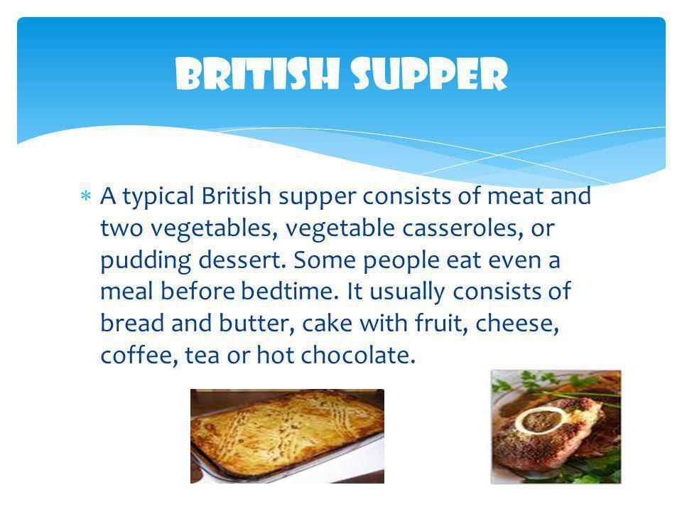 British Supper