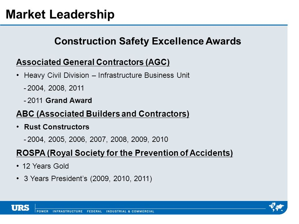 Construction Safety Excellence Awards